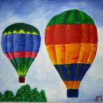 Painting Soiree Hot Air Balloons