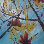 Swirling Leaves